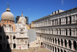 The Courtyard of the Doge's Palace from the upper floor of the South Wing