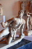Galata in Ginocchio - Gladiator on his knee,  2nd C. AD copy of 2nd C. BC original, Museo Archeologico Nazionale
