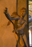Eros Che Incorda l'Arco - Cupid Stringing His Bow, 2nd C. AD copy of 4th C. BC Greek original