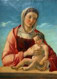 Madonna col Bambino (Madonna Frizzoni) Giovanni Bellini, 1470-75, Museo Correr, Venezia