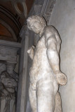 Large classical statue, Biblioteca Marciana