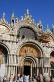 Basilica di San Marco a Venezia, main portal and western façade