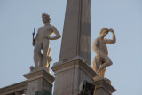 Nude statues, St. Mark's Square