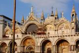 St. Mark's Basilica western façade on Piazza San Marco, Venice