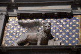 The symbol of Venice, the Lion of St. Mark