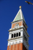 The Campanile is 99m tall