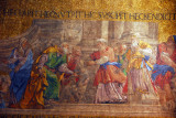 San Marco Mosaic - The refusal of Joachim's sacrifice from the stories of the Virgin, southern transcept, western vault