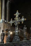 Cross on the iconostasis of St. Mark's Basilica