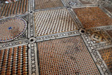 The tessellated floor of the south transept of St. Mark's Basilica