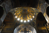 San Marco Mosaics - The Ascension Cupola from in front of the main altar, St. Mark's Basilica