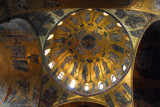 San Marco Mosaics - The Ascension Cupola, the central cupula dating from the 12th Century