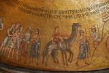 San Marco Mosaics - Atrium, First Cupola of Joseph where he is taken to Egypt