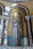 San Marco mosaics - Lower niches with the evangelist St. John
