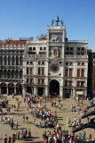 Clock Tower and Piazza San Marco from the Basilica terrace