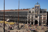 View of Piazza San Marco (St. Mark's Square) from the portico of St. Mark's Basilica