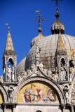 Western façade of St. Mark's Basilica
