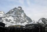 Monte Cervino, the southern face of Switzerland's Matterhorn