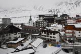 Italian ski resort of Cervinia, Valle d'Aosta