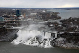 American Falls - Niagara - from Skylon Tower, winter