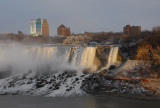 Amerian Falls and Goat Island, Niagara Falls, New York