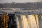 East edge of Horseshoe Falls, Niagara Falls, Ontario