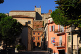 Via Martiri, entering Verucchio from the south