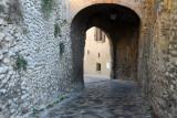 Via Rocca, Verucchio, to the castle