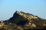 Monte Titano, San Marino, from the north, Torriana