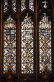 Stained glass - Victoria Tower - Palace of Westminster
