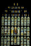Stained glass window, Westminster Hall (Parliament)