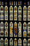 Stained glass window, Westminster Hall