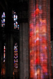 Colorful light, Milan Cathedral interior