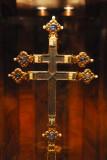 Reliquienkreuz Koenig Ludwigs den Grossen von Ungarn, ca 1370