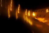 Bagno Vignoni / the lights of St. Catherine