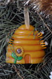 Beeswax Skep ornament