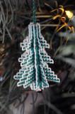 Plastic canvas tree