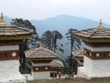 Dochula pass pagodas