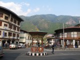 Thimpu traffice circle