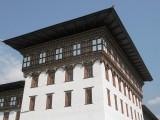 the Trashi Chhoe dzong in Thimpu