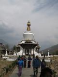 the National Memorial Chorten (temple)