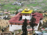 view of Paro dzong