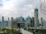 the Shrine of Hazrat Ali, also known as the Blue Mosque.