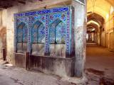 Water fountain in Esfahan's bazaar