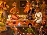 Shah Abbas II receiving the King of Turkestan