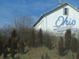 Barns with signage