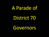 Past District Governors Slide Show