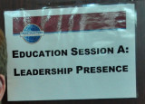 Session A : Creating Leadership Presence - Mariette Rups-Donnelly