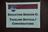 Session C : Tackling Dificult Conversations - Sally Foley-Lewis