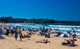 Manly Beach on a summer's day