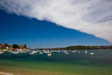 Manly with cloud